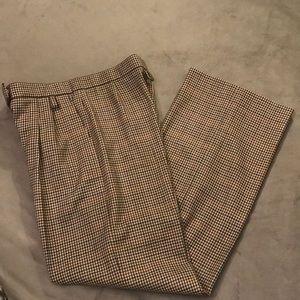 Hermes wool trousers